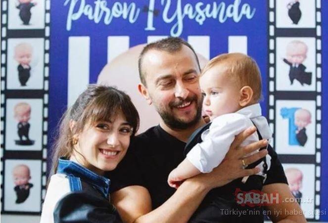 Küçük Ali Atay 1 yaşında! Ünlü çift Hazal Kaya ile Ali Atay'dan oğulları Fikret Ali'ye doğum günü partisi...