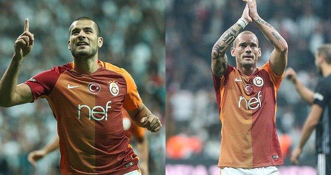 Eren ve Sneijder'den Galatasaray'a kötü haber