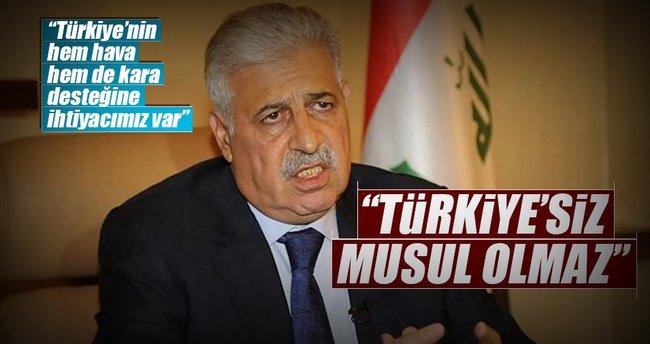 """""""Türkiye'siz Musul olmaz"""""""