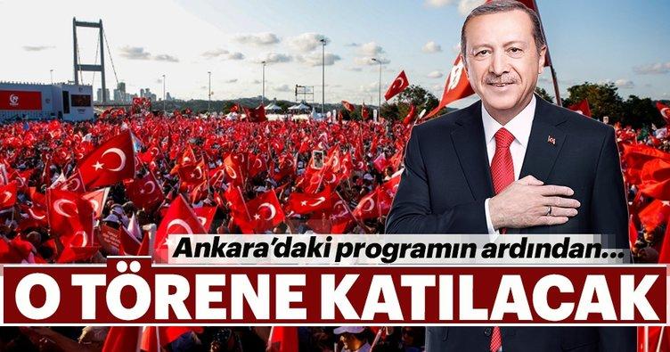 Son dakika: Cumhurbaşkanı Erdoğan, o yürüyüşe katılacak