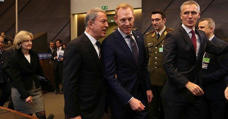 Akar, NATO Genel Sekreteri ile görüştü