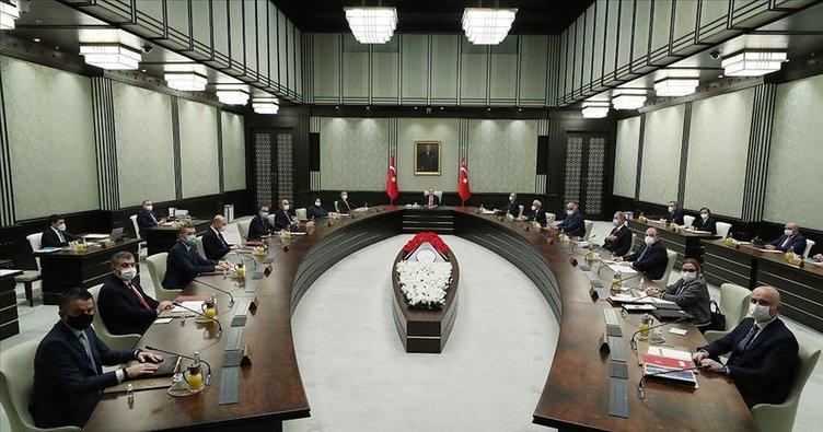 SON DAKİKA! Recep Tayyip Erdoğan başkanlığında kabine toplantısı: Yasakların kalkacağı normalleşme takvimi ne zaman açıklanacak?