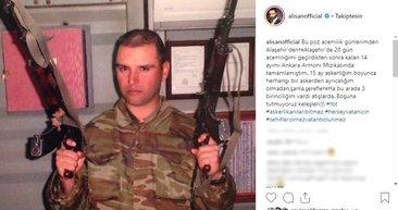 Alişan, askerlik fotoğrafını paylaştı! İşte ünlülerin askerlik fotoğrafları