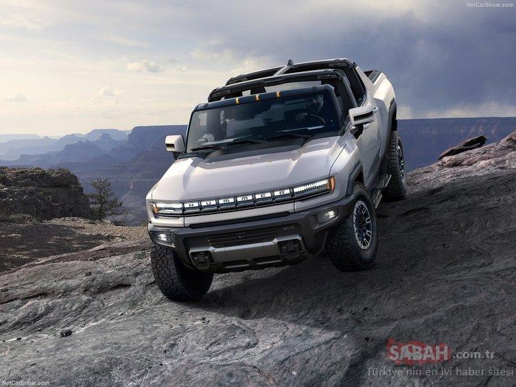 Canavar Hummer geri döndü! 2022 GMC Hummer EV tanıtıldı