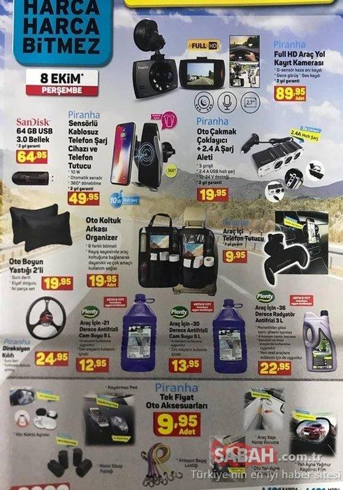 A101 aktüel ürünler kataloğu bu hafta da dopdolu! A101 8 Ekim Perşembe aktüel indirimli ürünler!