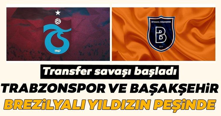 Trabzonspor ve Medipol Başakşehir, Brezilyalı yıldızın peşinde