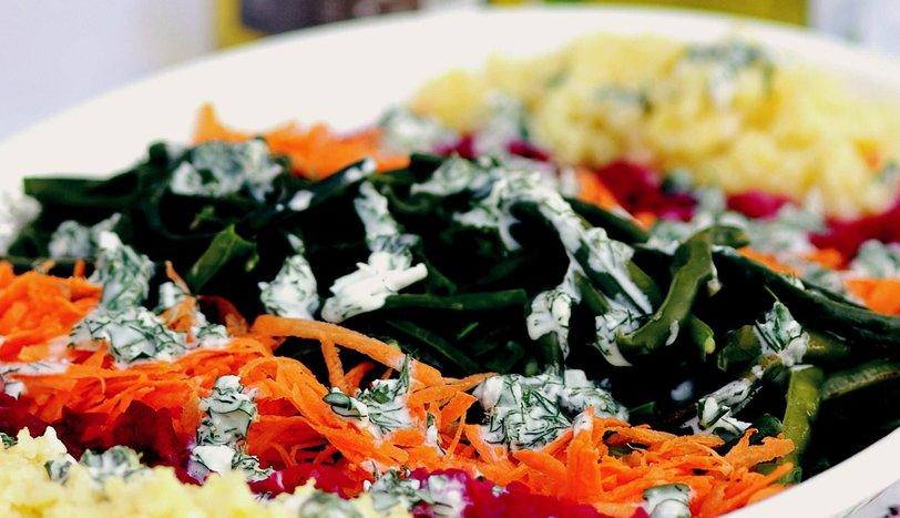 Çökertme Salatası