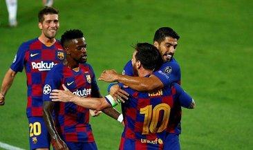 Barcelona Lizbon biletini kaptı!