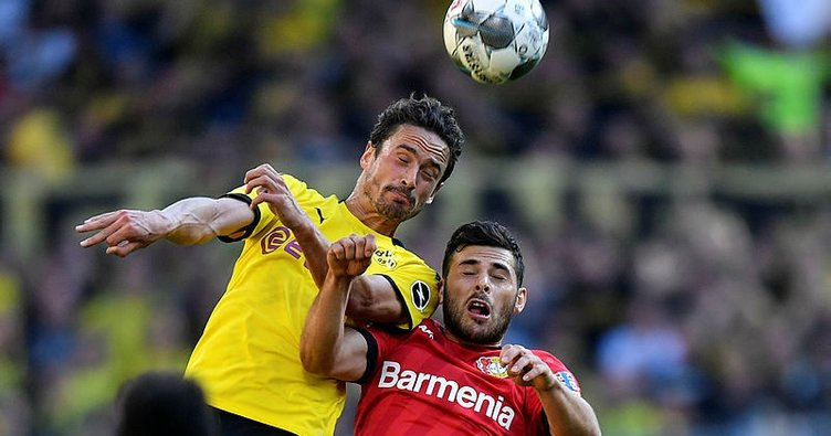 Borussia Dortmund, Bayer Leverkusen'i 4 golle devirdi