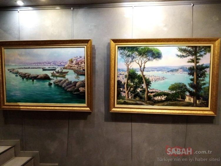 Karabağ'ın ressamı Refik Aziz'in sergisi açıldı