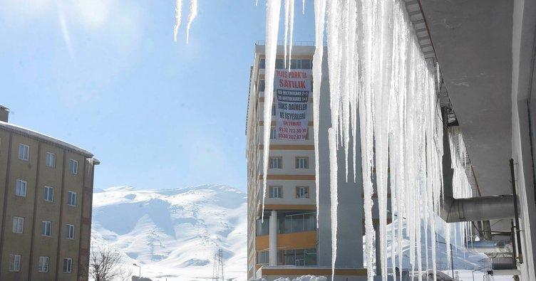 Bitlis'te hava sıcaklığıeksi 20'ye düştü