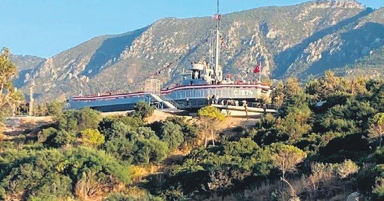 Kıbrıs Türkü'nün özgürlüğü işte bu gemide: Açılışını Başkan Erdoğan yapmıştı
