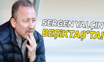 SON DAKİKA: Sergen Yalçın Beşiktaş'ta!