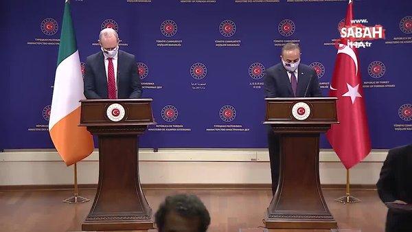Son dakika: Dışişleri Bakanı Mevlüt Çavuşoğlu'ndan istikşafi görüşmelere ilişkin açıklama   Video