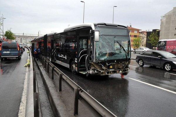 Metrobüs dehşeti