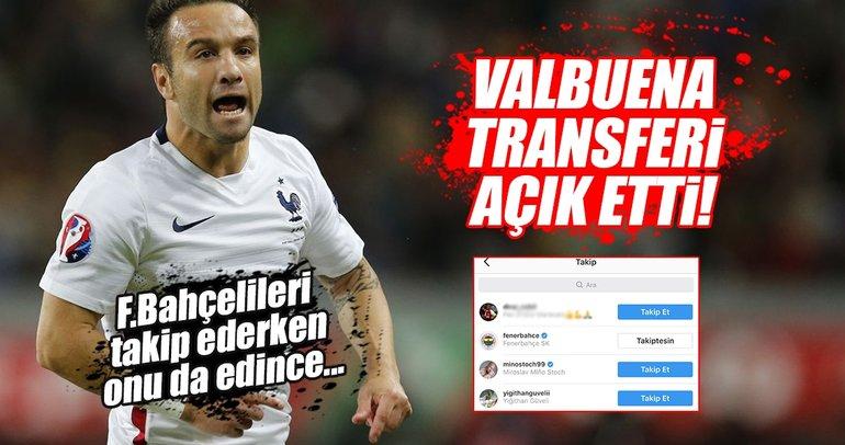 Valbuena, Instagram'da Fenerbahçeli oldu bile!