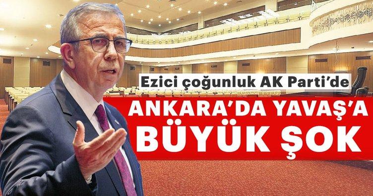 Mansur Yavaş'a Belediye Meclisi'nde şok: Ankara'da denge ve denetim AK Parti'de