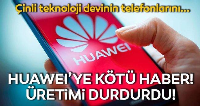 Huawei'ye bir kötü haber daha! ABD'nin yaptırım kararından sonra...