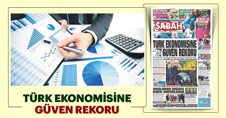 Ekonomiye güven mesajı