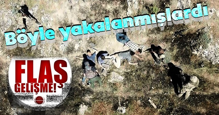 Batman'da yakalanan 4 PKK'lı terörist tutuklandı