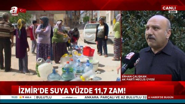 İzmir'de suya 11.7 zam! İzmirlilere 8 ayda suda ikinci şok | Video