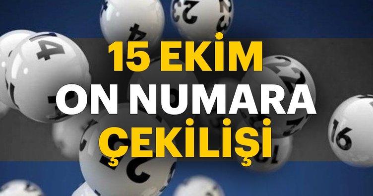 Son dakika: On Numara çekilişi ne zaman saat kaçta? MPİ 15 Ekim On Numara çekiliş sonuçları belli oluyor