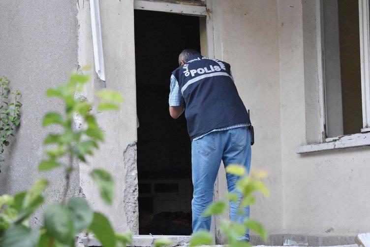 Kullanılmayan binada erkek cesedi bulundu