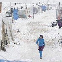 O ülkede 9 Suriyeli mülteci donarak öldü