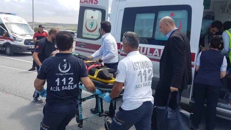Son dakika...Kuzey Marmara Otoyolu'nda midibüs devrildi; çok sayıda kişi yaralandı