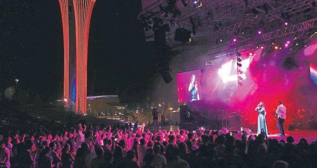 EXPO'da bayram tadında konser