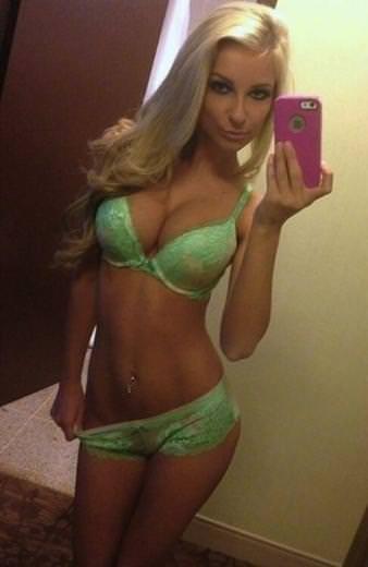 Ayna karşısında selfie