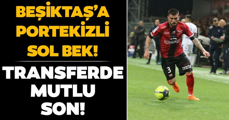 Beşiktaş sol bek transferini bitirdi: Pedro Rebocho