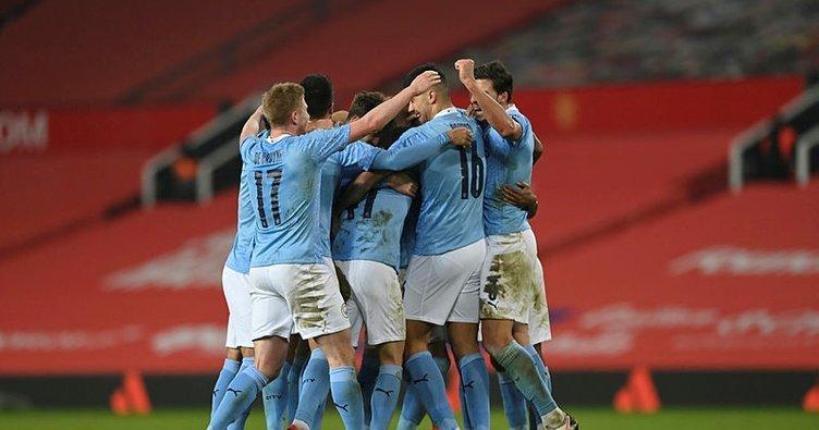 Manchester derbisini City kazandı! Finale çıktı...