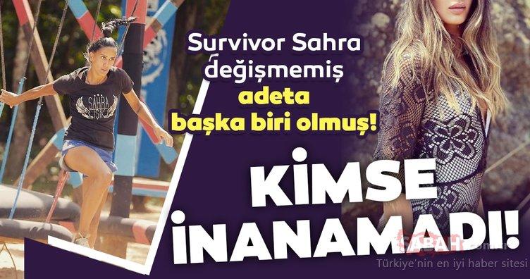 Survivor Sahra Işık'ı tanımak neredeyse imkansız! Eski Survivor yarışmacılarından Sahra değişimi ile dudak uçuklattı!