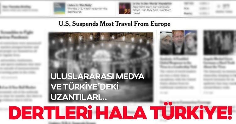 Uluslararası medya ve Türkiye'deki uzantıları; koronavirüs haberlerinde ülkemizi hedef aldı!