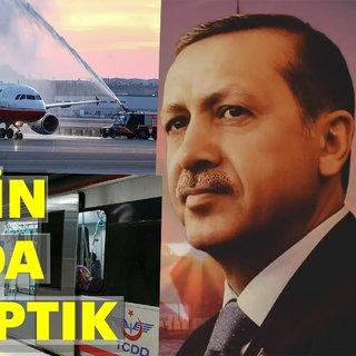 Cumhurbaşkanı Erdoğan: ulaşımda devrim yaptık