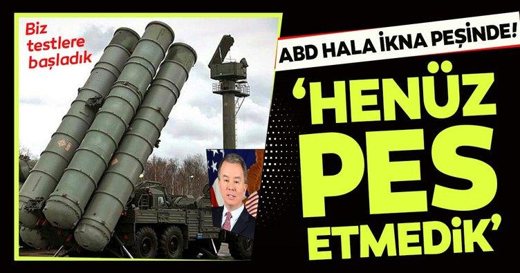 Pentagon Savunma Politikaları Müsteşarı Rood: S-400 konusunda henüz pes etmedik