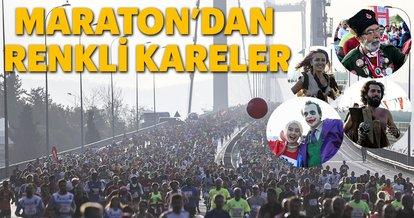 Vodafone 40. İstanbul Maratonu'nda ilk start verildi