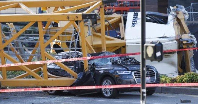ABD'de vinç çöktü: 4 kişi hayatını kaybetti!