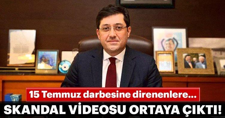 CHP'li eski Başkanın skandal videosu