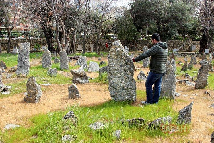 Alanya'daki sahipsiz taş mezarlar gizemi koruyor