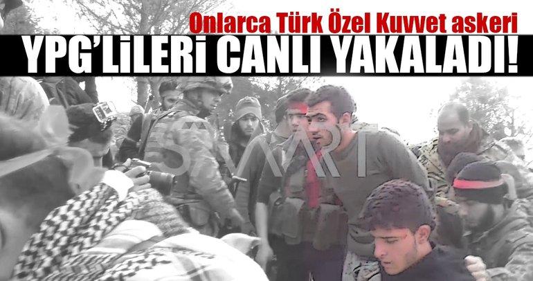 Afrin yolunu açan Burseya operasyonunda YPG'liler böyle yakalandı