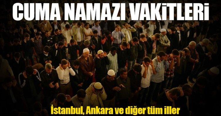 Bu hafta Cuma namazı saat kaçta okunuyor? - İstanbul Cuma namaz vakitleri bu sayfada
