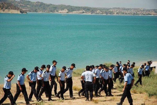250 polis kovan peşinde