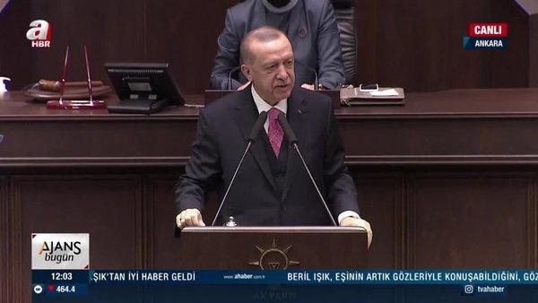 Cumhurbaşkanı Erdoğan'dan AK Parti Meclis Grup Toplantısında flaş açıklamalar | Video