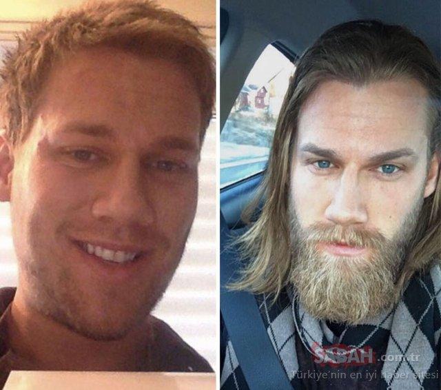 Sakal erkekleri ne kadar değiştirir!