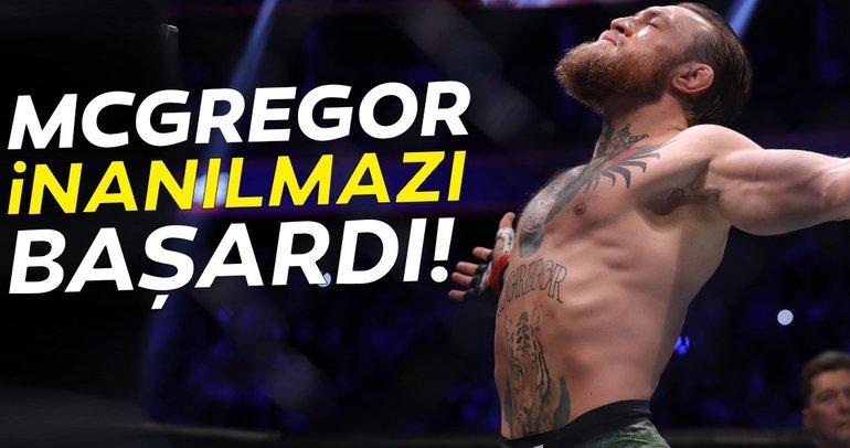 Conor Mcgregor inanılmazı başardı! 40 saniyede...