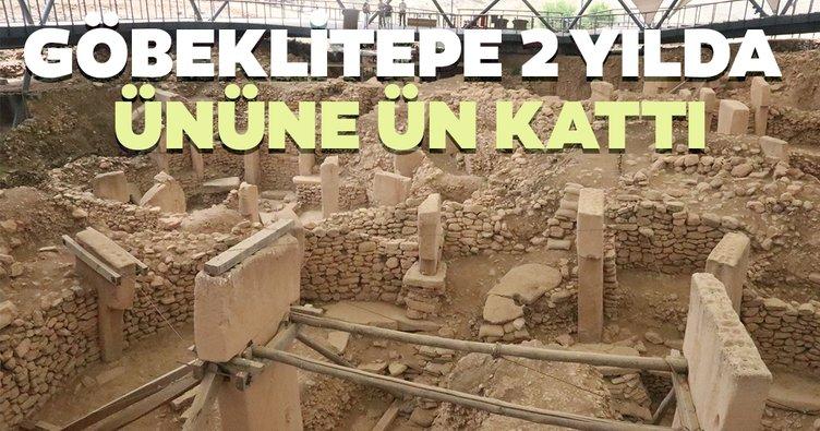 Göbeklitepe UNESCO ile 2 yılda ününe ün kattı