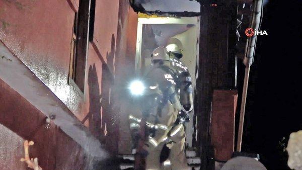 Kırıkkale'deçatıdan gelen sesleri hırsız sanan adam hayatının şokunu yaşadı!