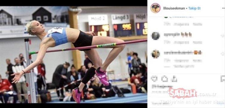 İsveçli sporcu sosyal medya paylaşımlarıyla görenleri şaşırtıyor!